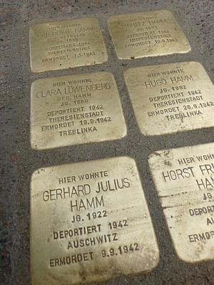 Stolperstein für Julius Hamm 1922 - 1942 (Jacobsonstraße, Seesen)