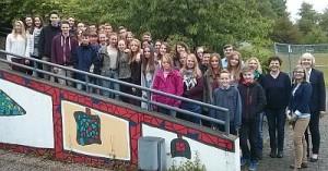 Schüler und Lehrer aus Harz und Elsaß