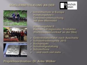 Handlungsfelder Umweltschule in Europa