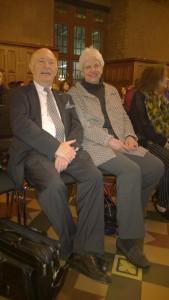 Bert Woudstra und seine Frau, 27.01.2016