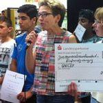 2925 Euro konnte den Vertretern von UNICEF übergeben werden.