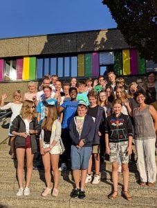 Polnische und deutsche Schüler