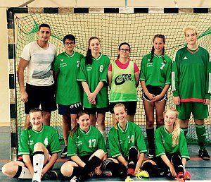 Fußballmannschaft Damen 2016