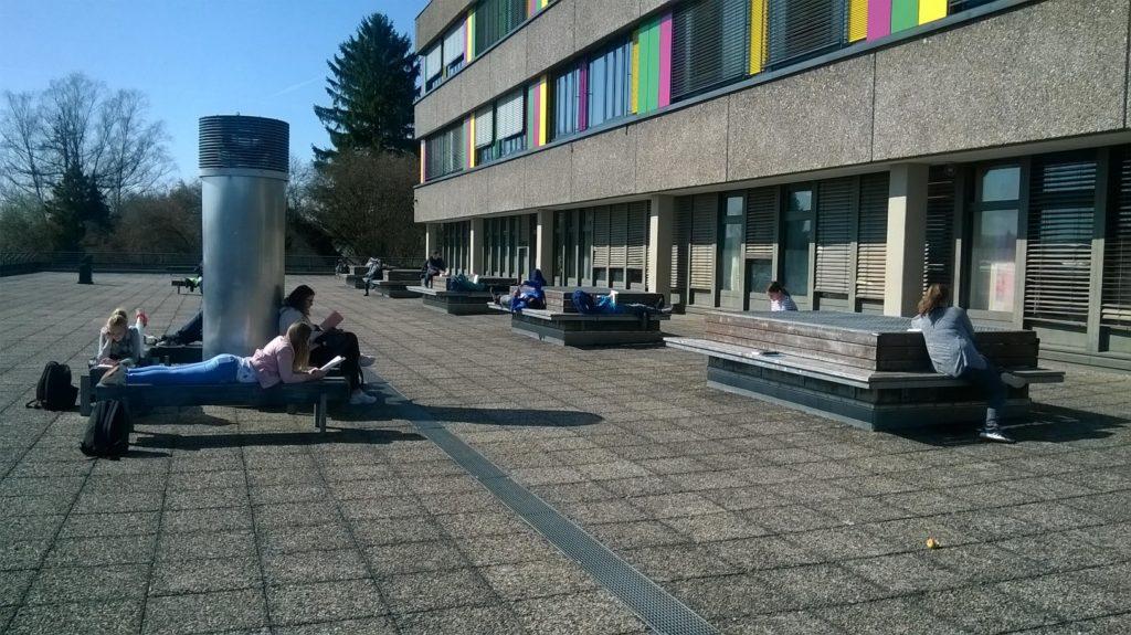 Lesewerkstatt auf dem Sonnendeck