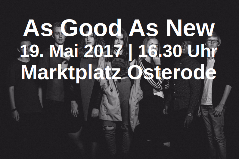 Konzert am 19. Mai 2017 in Osterode