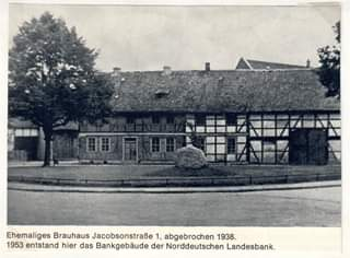 Postkarte Jacobsonstraße 1 ca. 1938, Quelle https://m.facebook.com/Seeseneransichten/photos/a.1506870049639354/2010670225925998/?type=3&source=57
