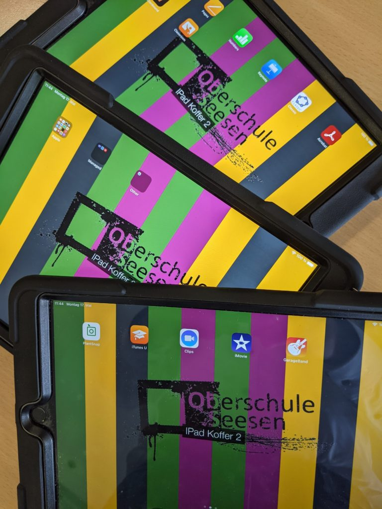 Tablets der Oberschule Seesen